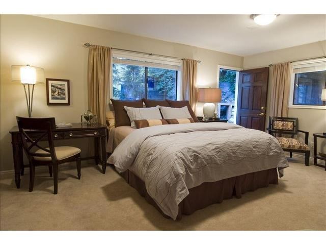 King guest room; quality linens and mattress, TV, DVD