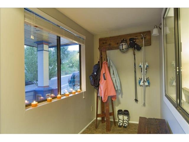 Nice mudroom to keep your gear organized