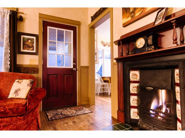 You will love the gas fireplace