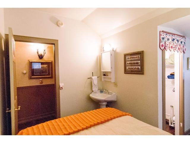 Guest bedroom sink - because that is what they did back then