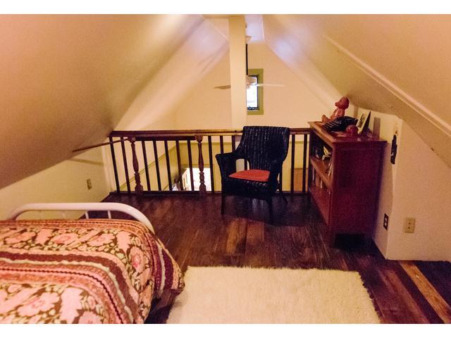 In the loft looking toward the queen bedroom