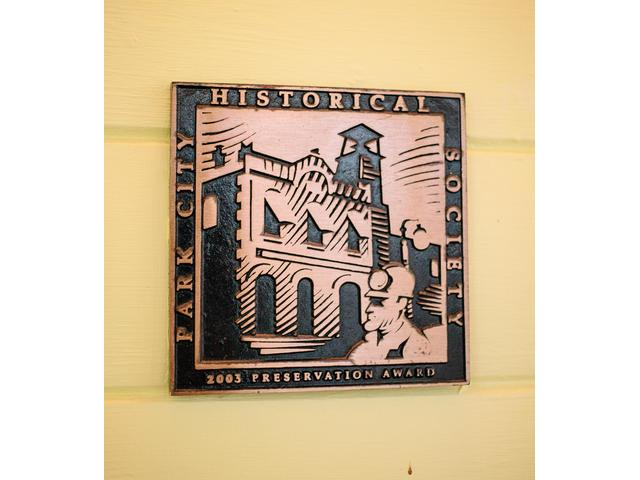 Park City Historical Society home