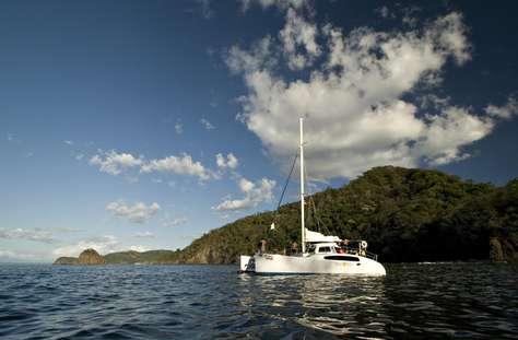 Catamaran cruises leaving daily