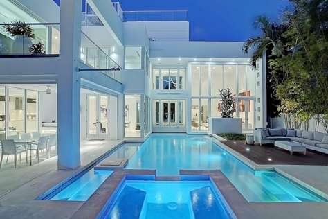 Modern Mansion at the Beach