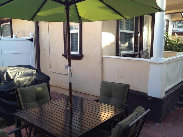 patio & bbq area
