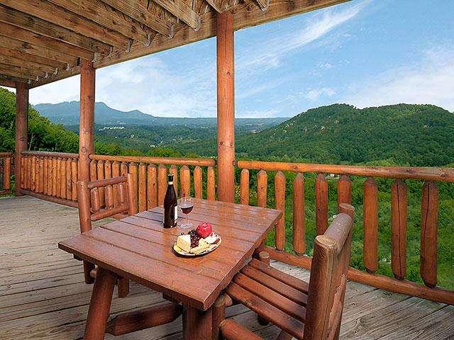 Gorgeous Porch Side Mountain Views