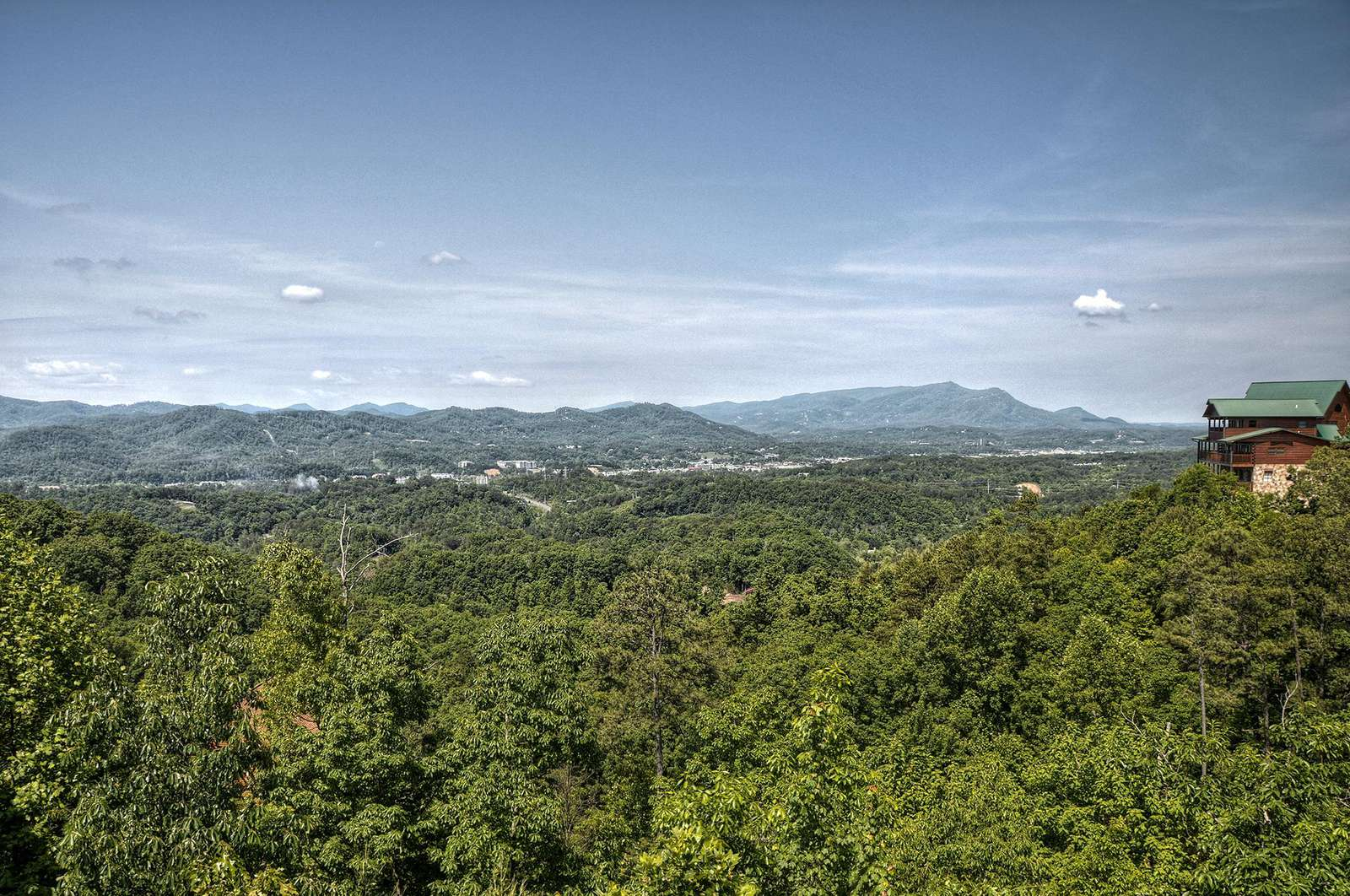 View of the City & Bluff Mountain