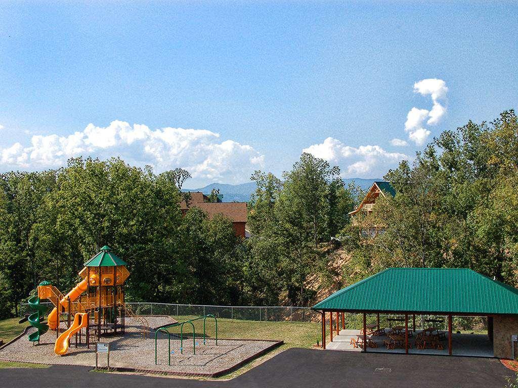 Starr Crest Resort Playground & Pavilion Area