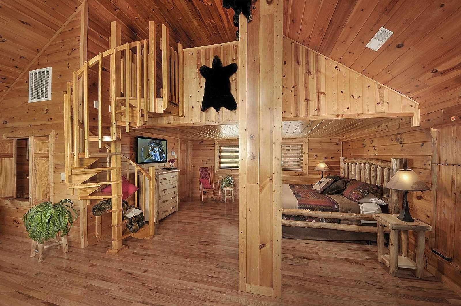 Loft Bedroom with Bonus Loft Area