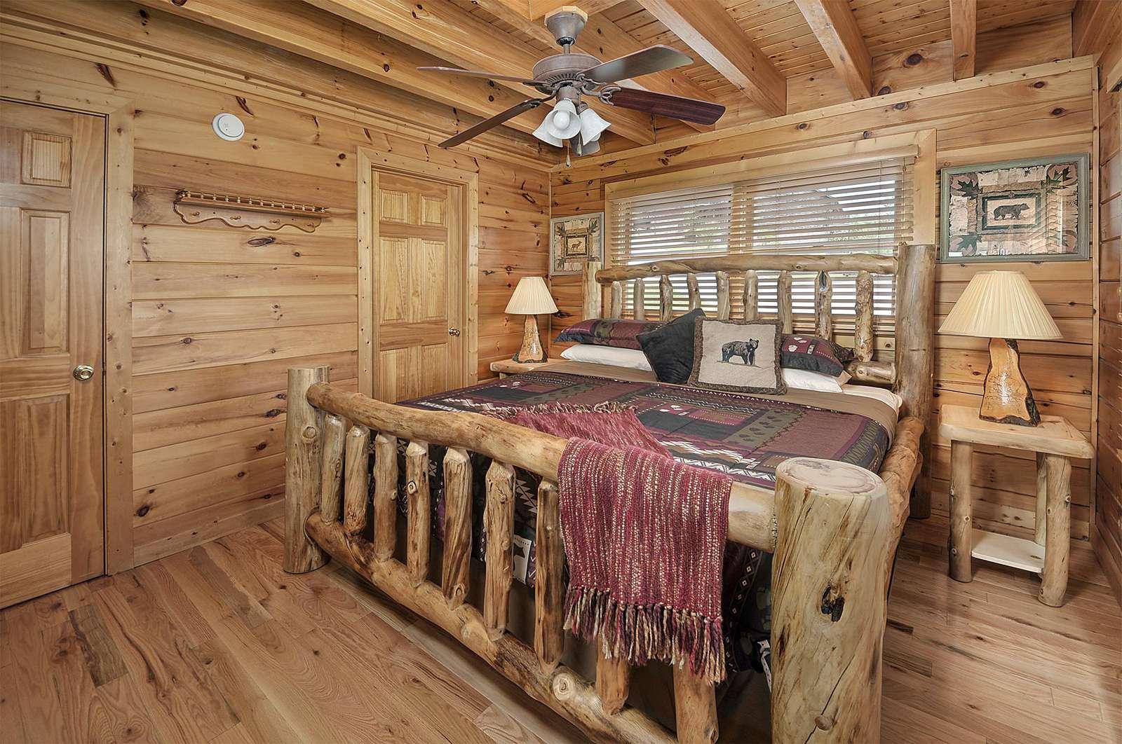 Main Floor Bedroom with Attached Bathroom