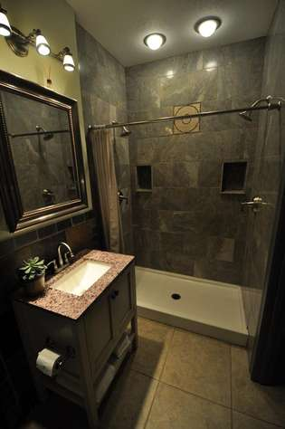 first bathroom large shower for 2