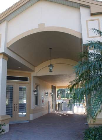 Clubhouse amenities include sparking pool and fitness center