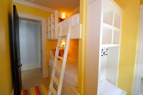 2nd Floor Bunk Room: Bunk Room with 2 Beds Located Just off Entertainment Area (No TV)