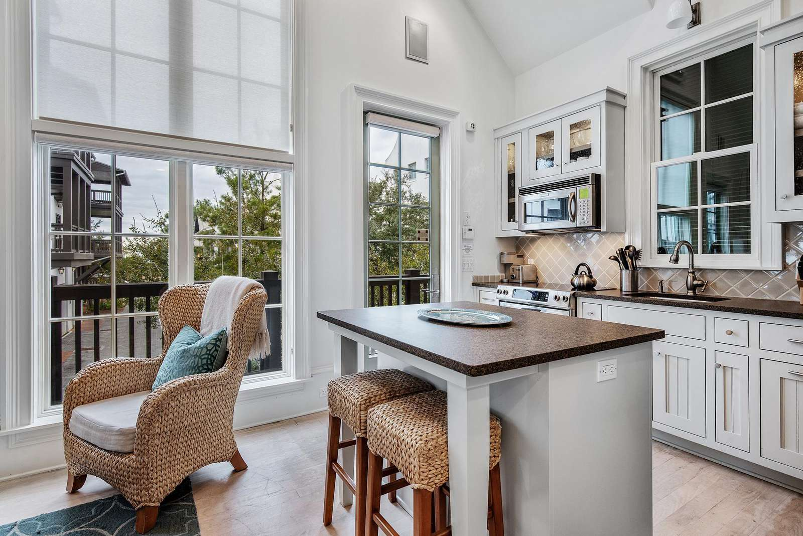 Kitchen Island for seating for two