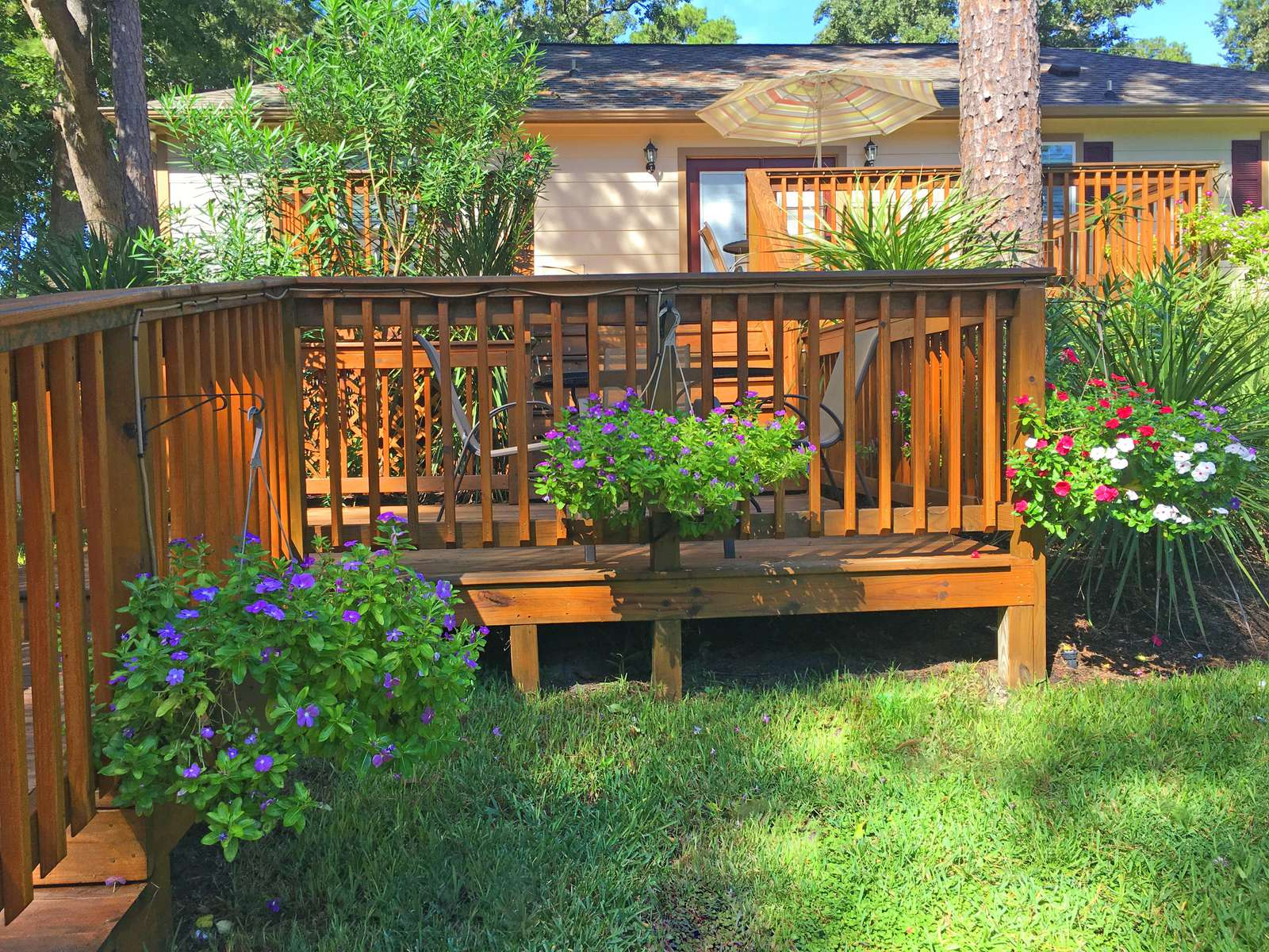 Summertime brings loads of color to our properties.