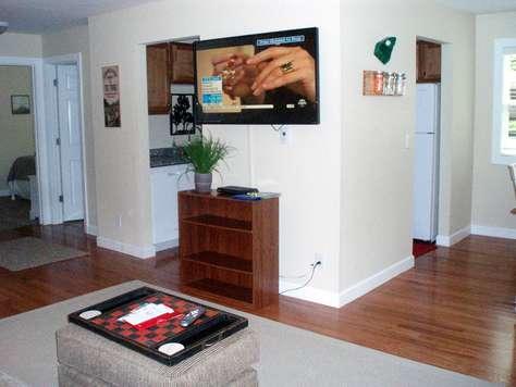 Flat screen TV and WIFI