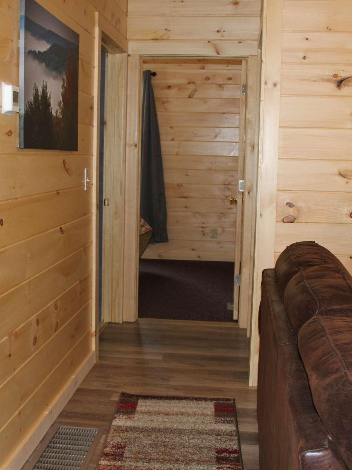 Hallway to Bedrooms and Bathroom