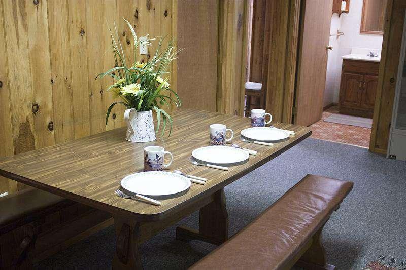 Dining area.