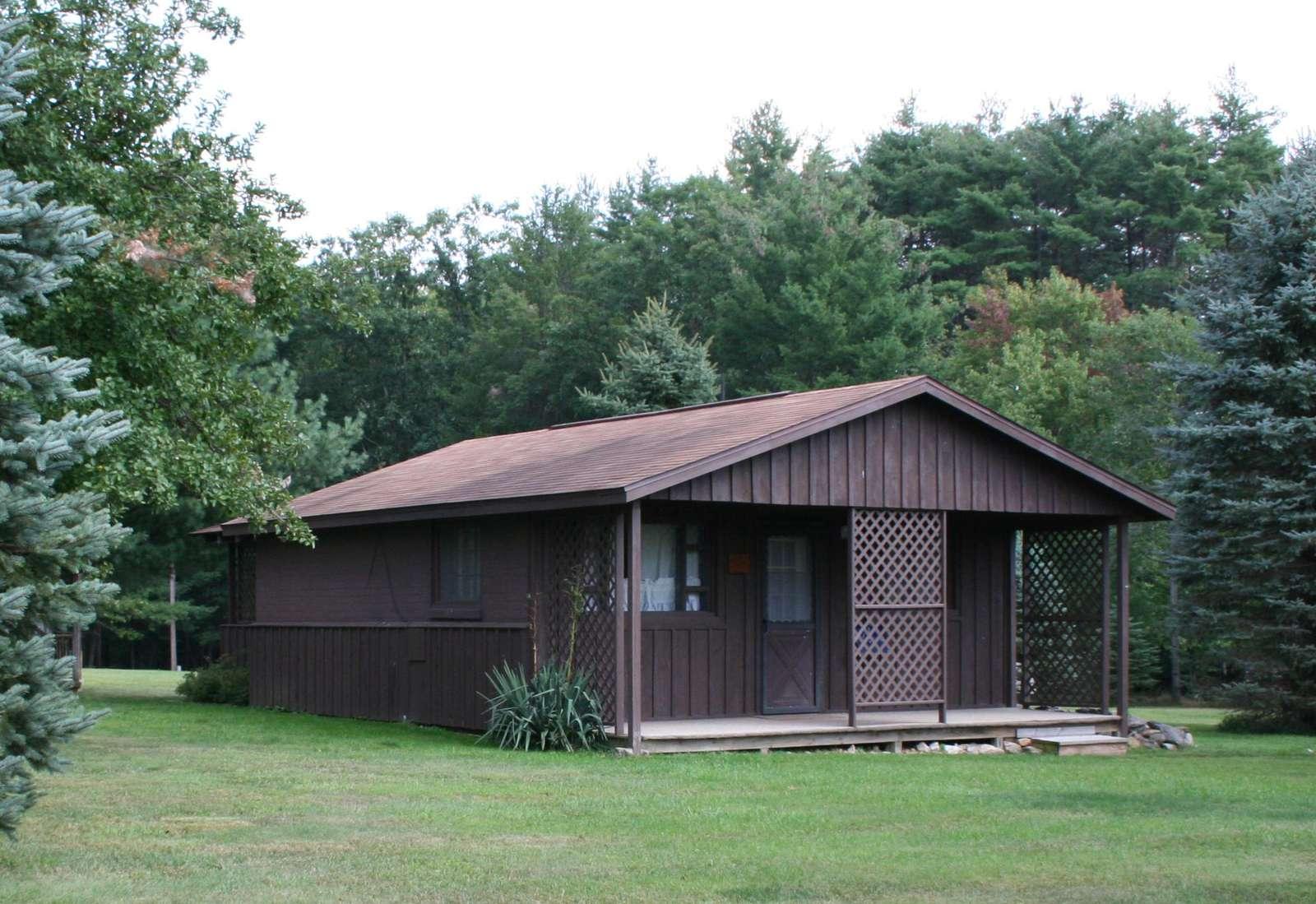 Sugar Pine Cottage, Front View