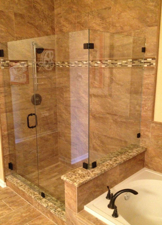 Luxurious shower in master bathroom