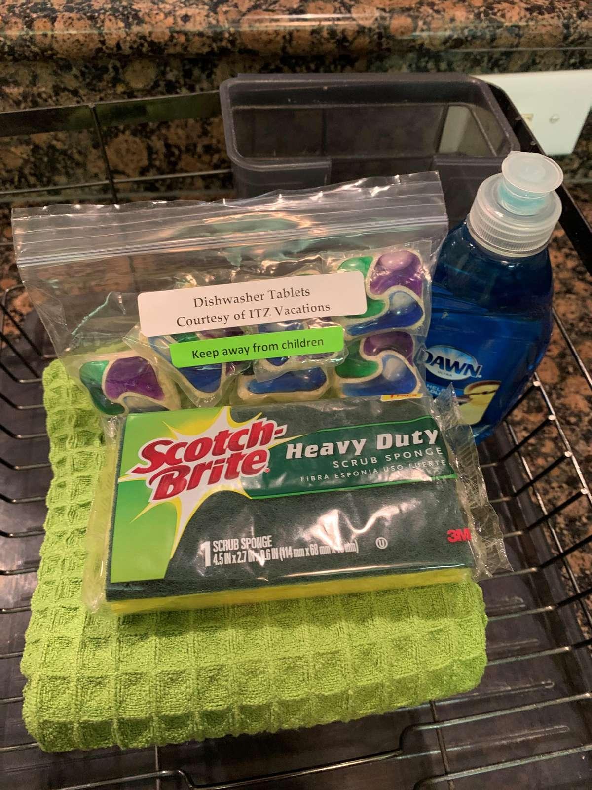 Dishwashing starter kit