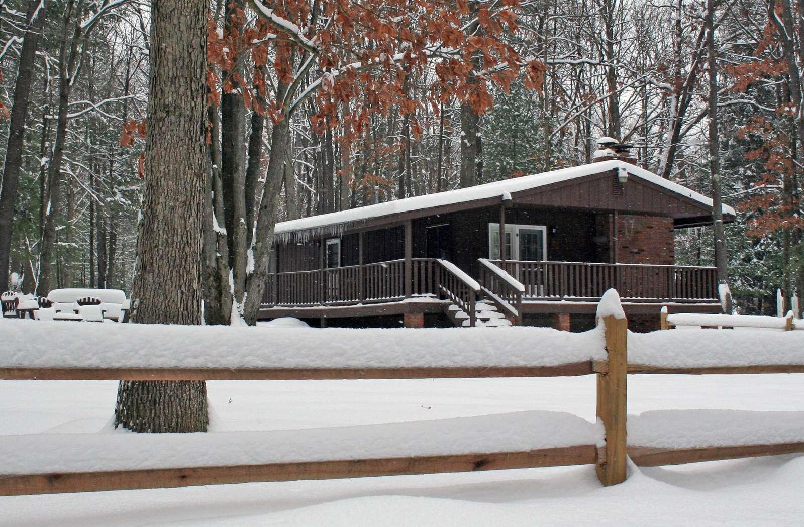 Hemlock Haven in Snow 12-30-12