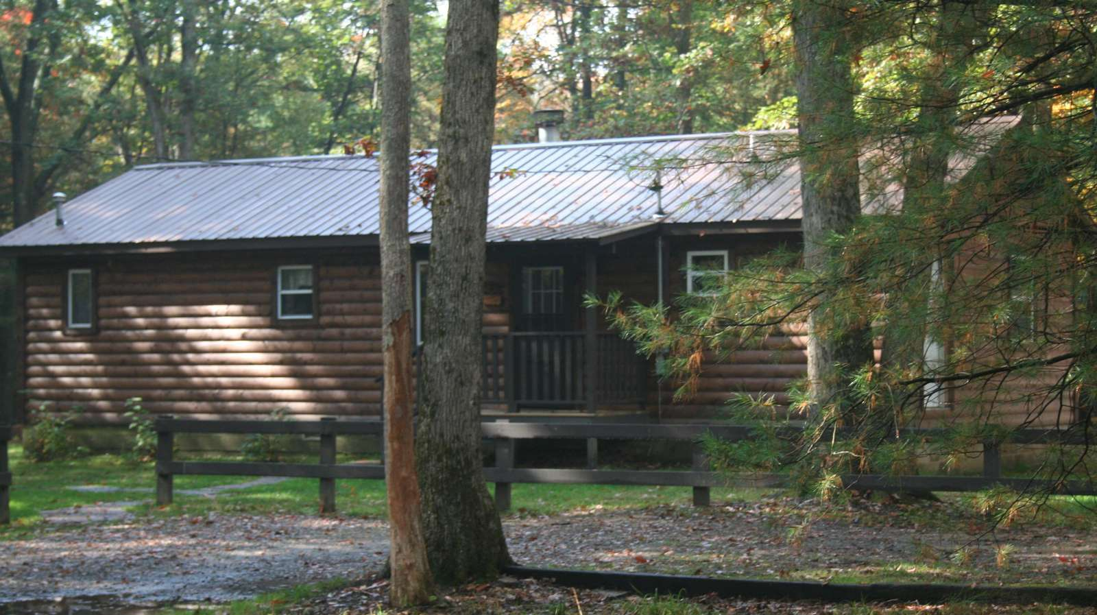 Fall at Hidden Oaks Cabin #2