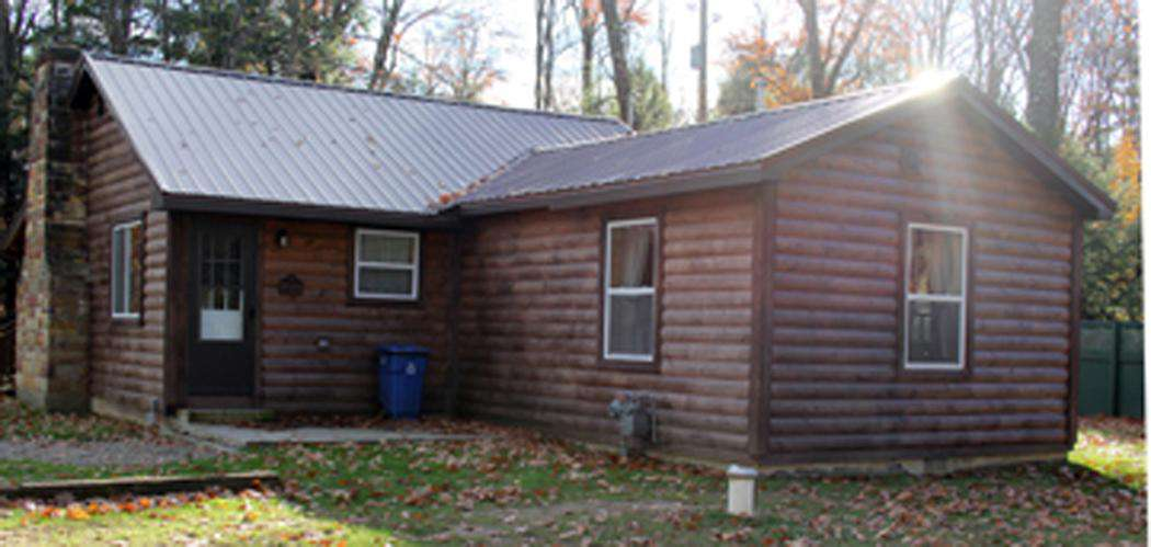 Back View of Old Hickory Cabin