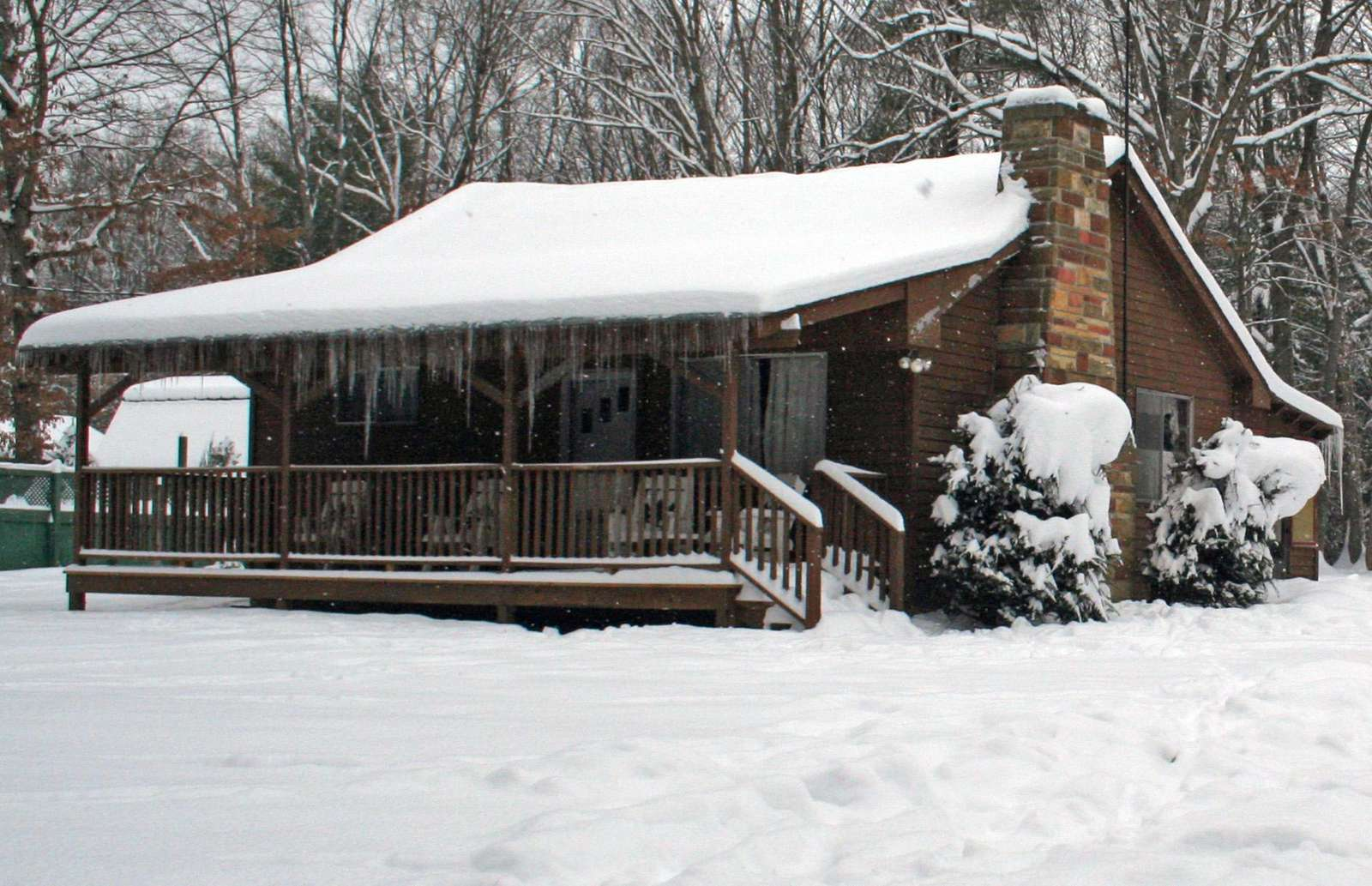 Old Hickory Cabin - Snow - 12-30-12