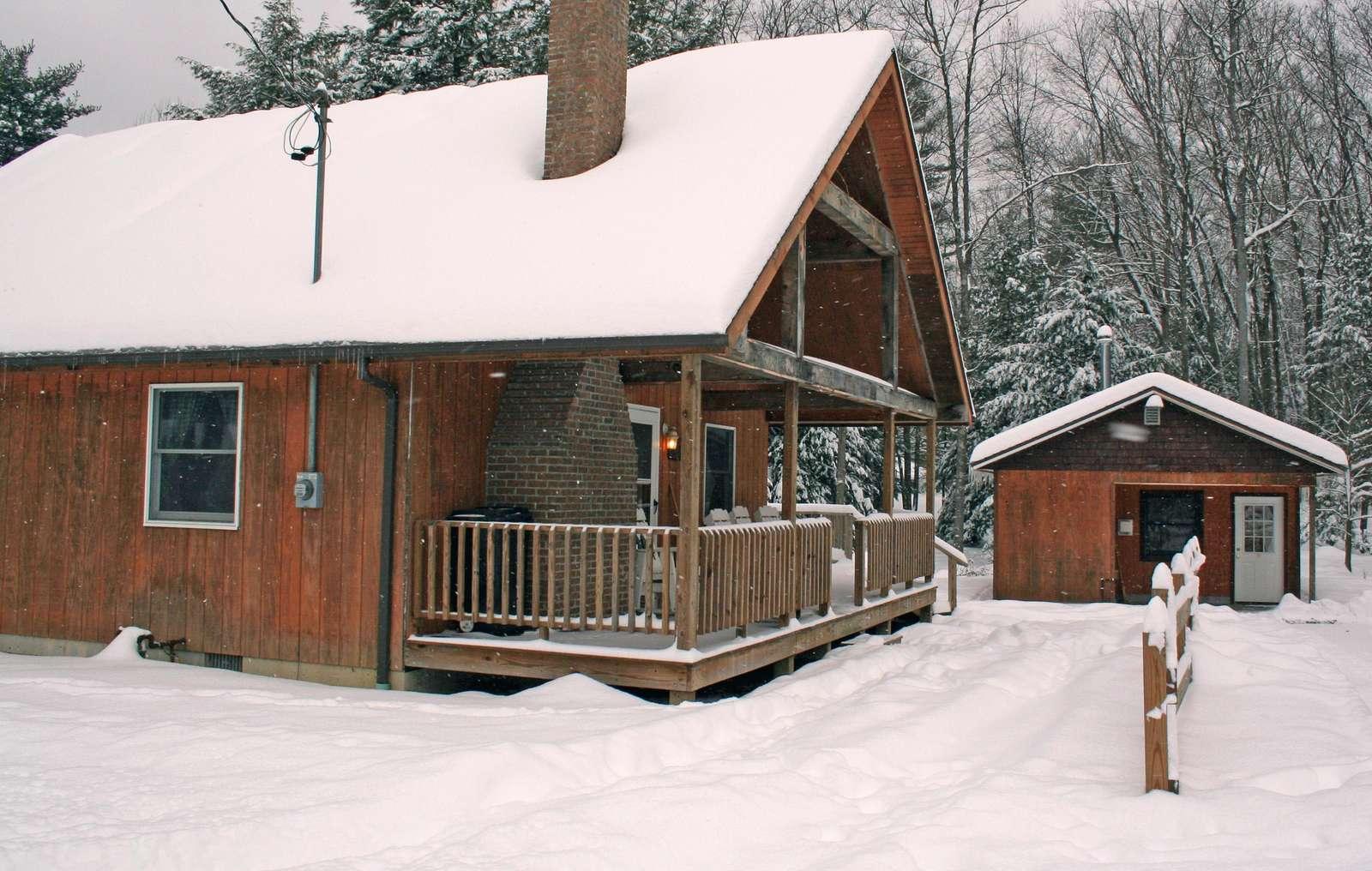 Sunburst Locust Cabin - Snow 12-30-12