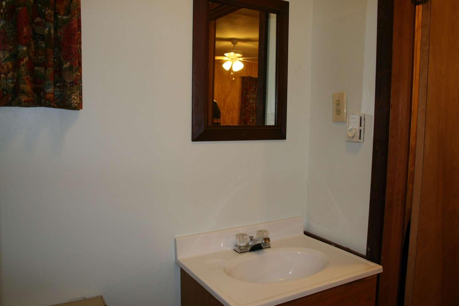 Annex Bathroom - Sink, Commode, Shower