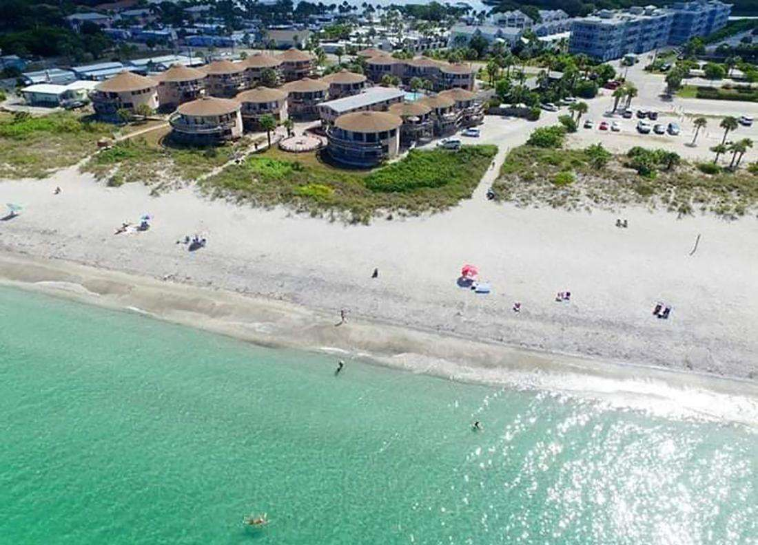 Aerial View of Castaways