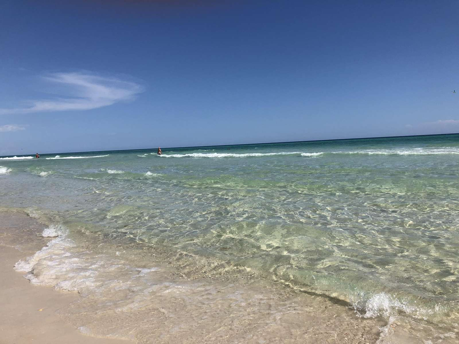 Beach behind corona Del Mar
