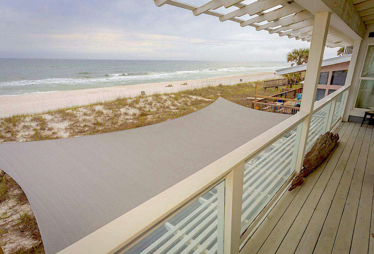 Deck off of bedroom #3