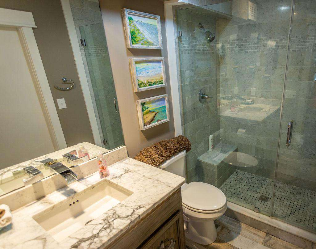 Bathroom #4 - bath with shower