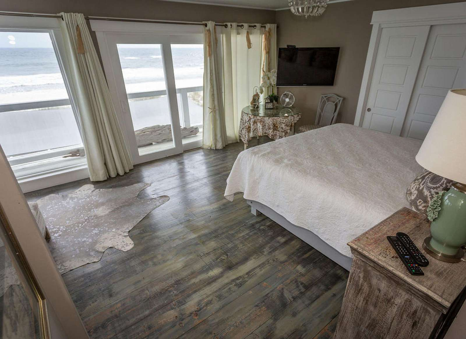 Bedroom #3 - large deck directly off the master suite overlooking the Gulf