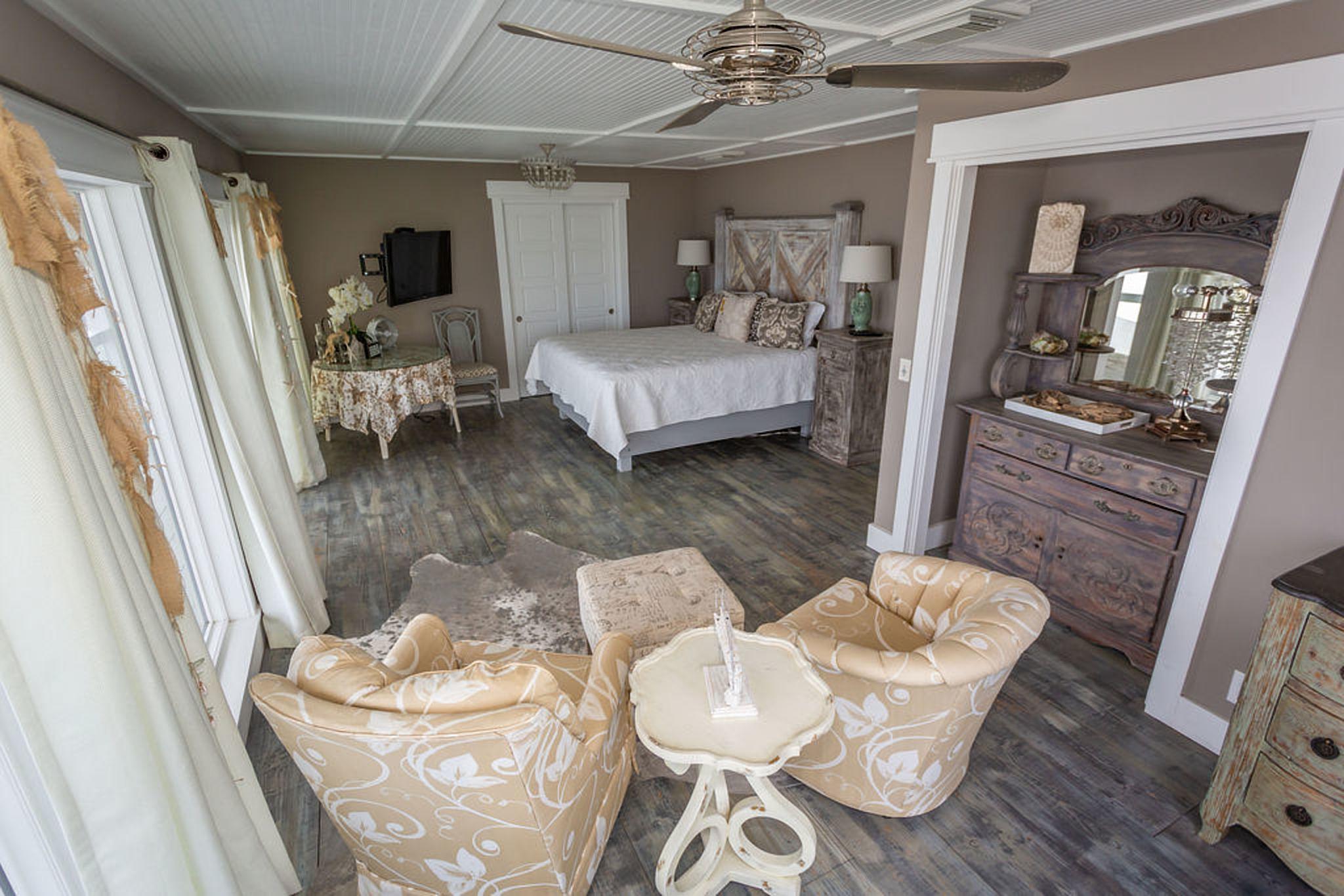 Bedroom #3 - private suite overlooking the ocean