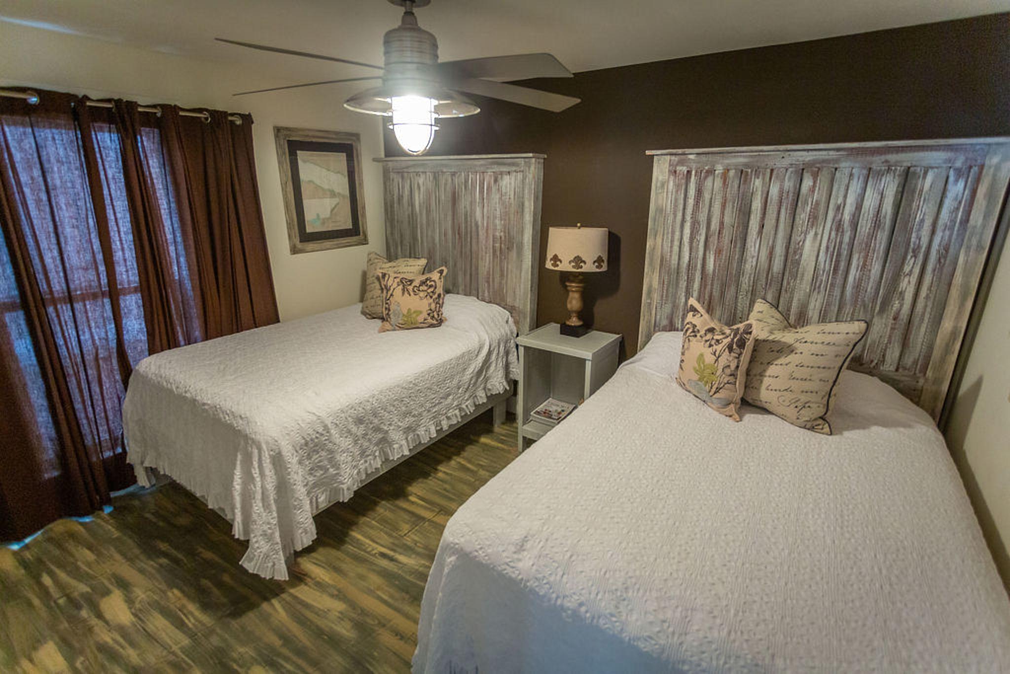 Bedroom #5 - two queen beds/ share bath with bedroom #4