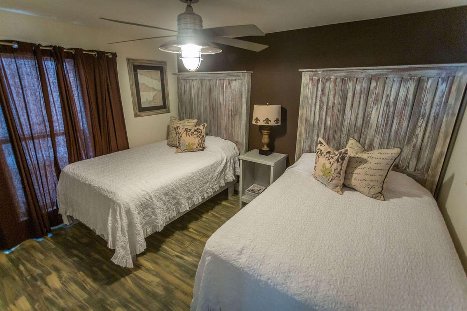 Bedroom #5 - two queen beds/ share bath with bedroom #4