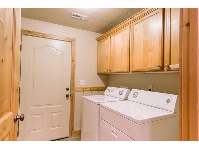 Laundry Room between kitchen & garage