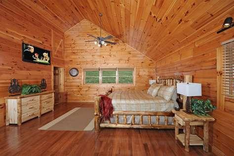 Loft Bedroom King Bed