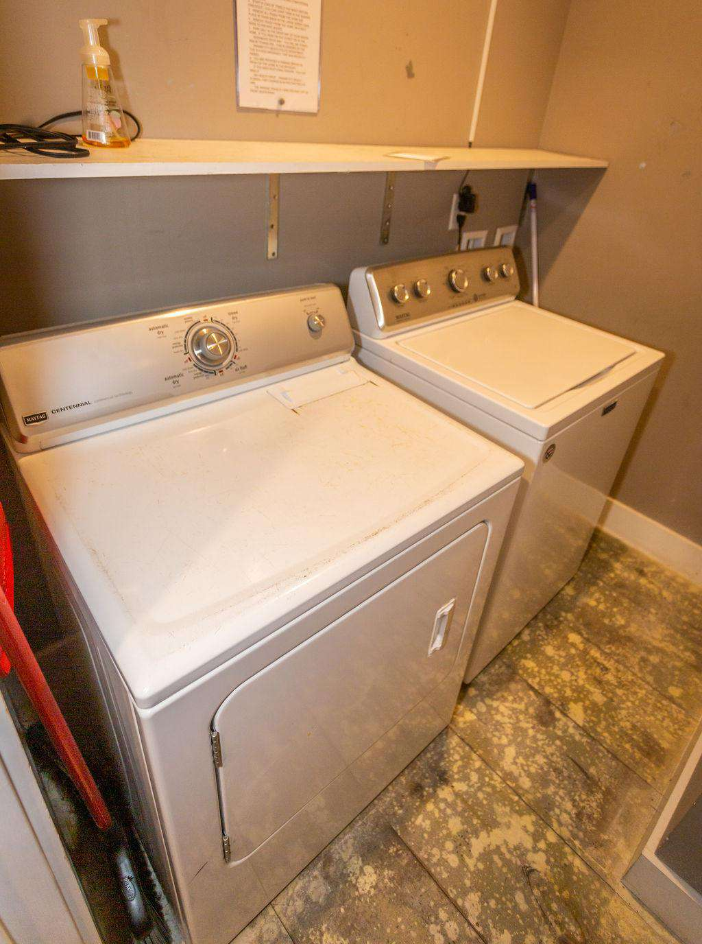 Full size maytag washer and dryer