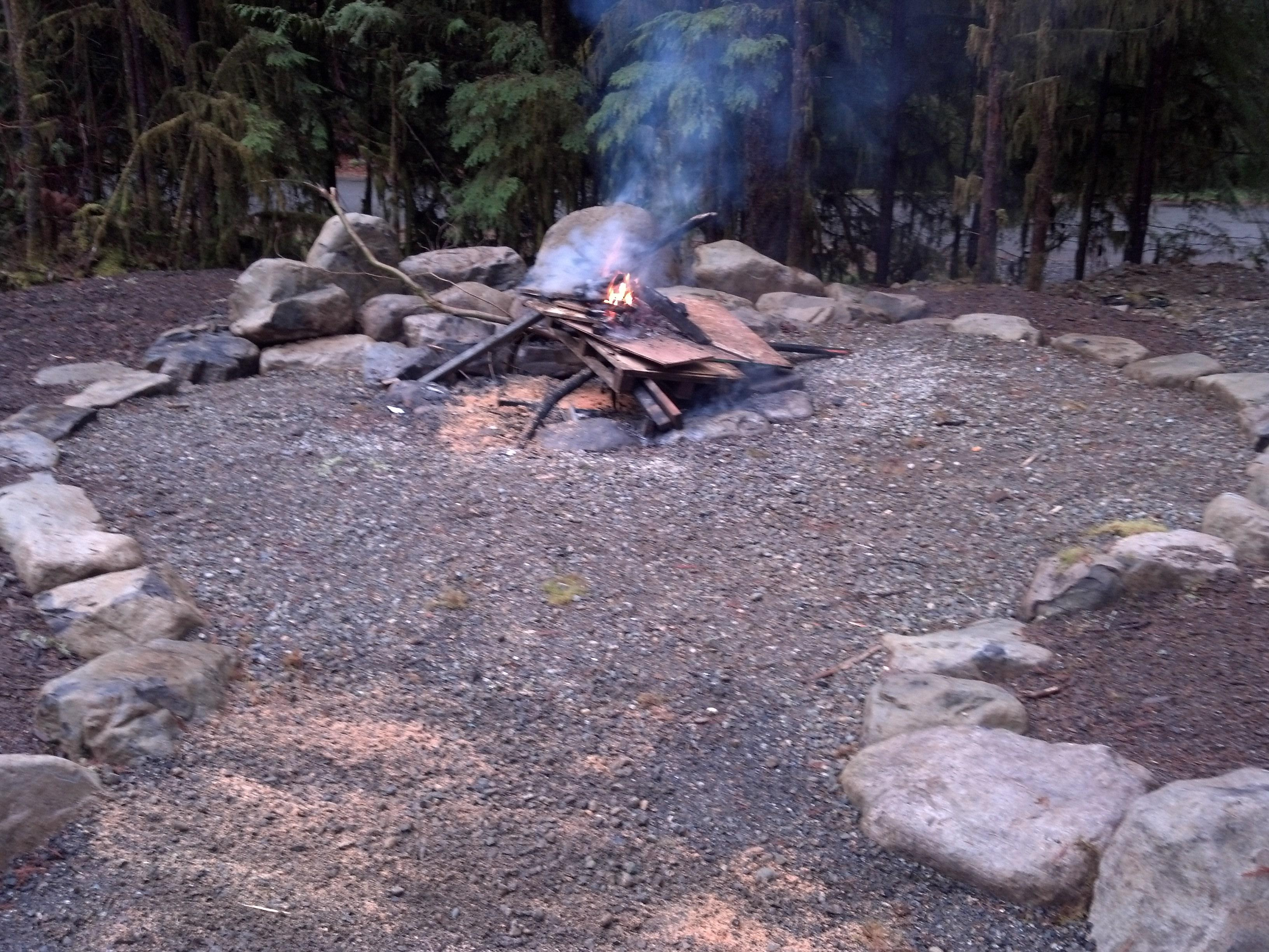 Huge Fire Pit BYOW!