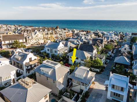 Located perfectly within Rosemary Beach. Near Town and Beach!
