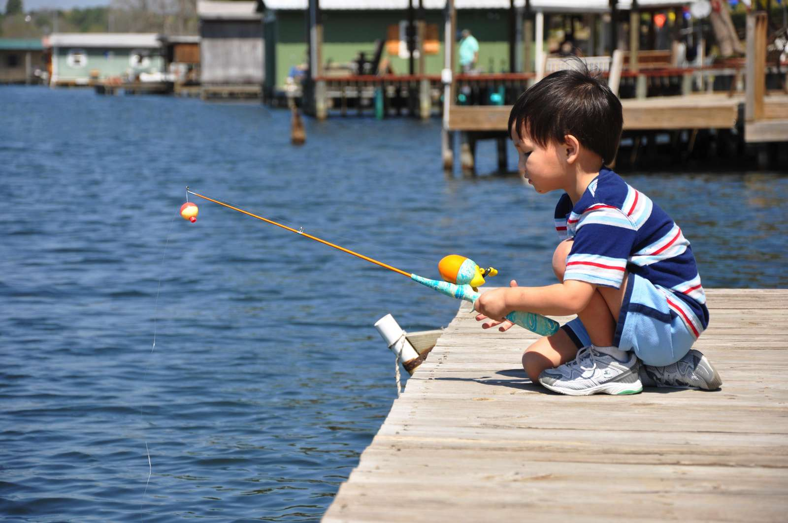 Theres nothing better than watching your kids catch a fish, it's even better when it's their first. We can offer tips to help.