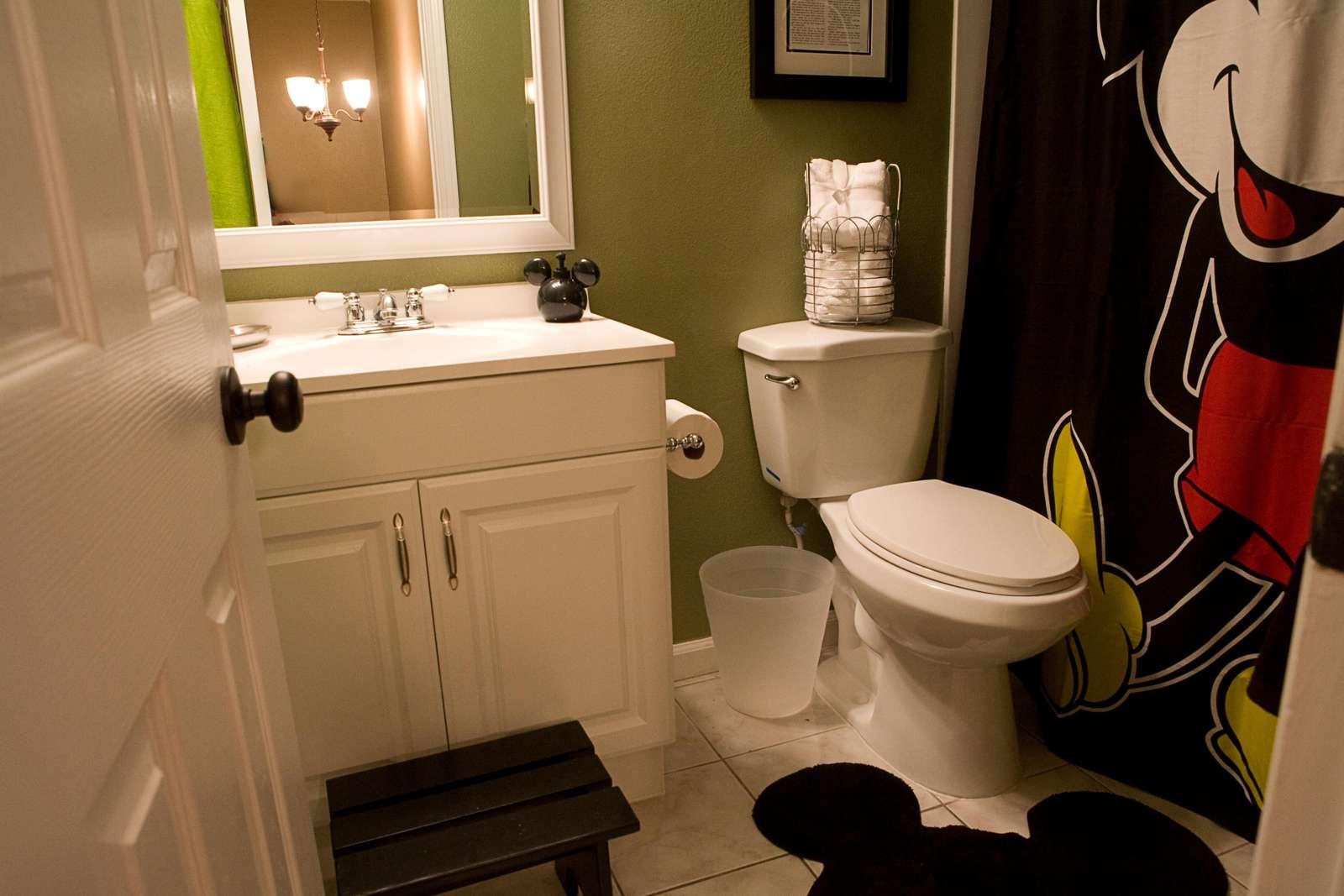 The Disney Bathroom