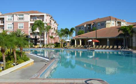Main pool at clubhouse