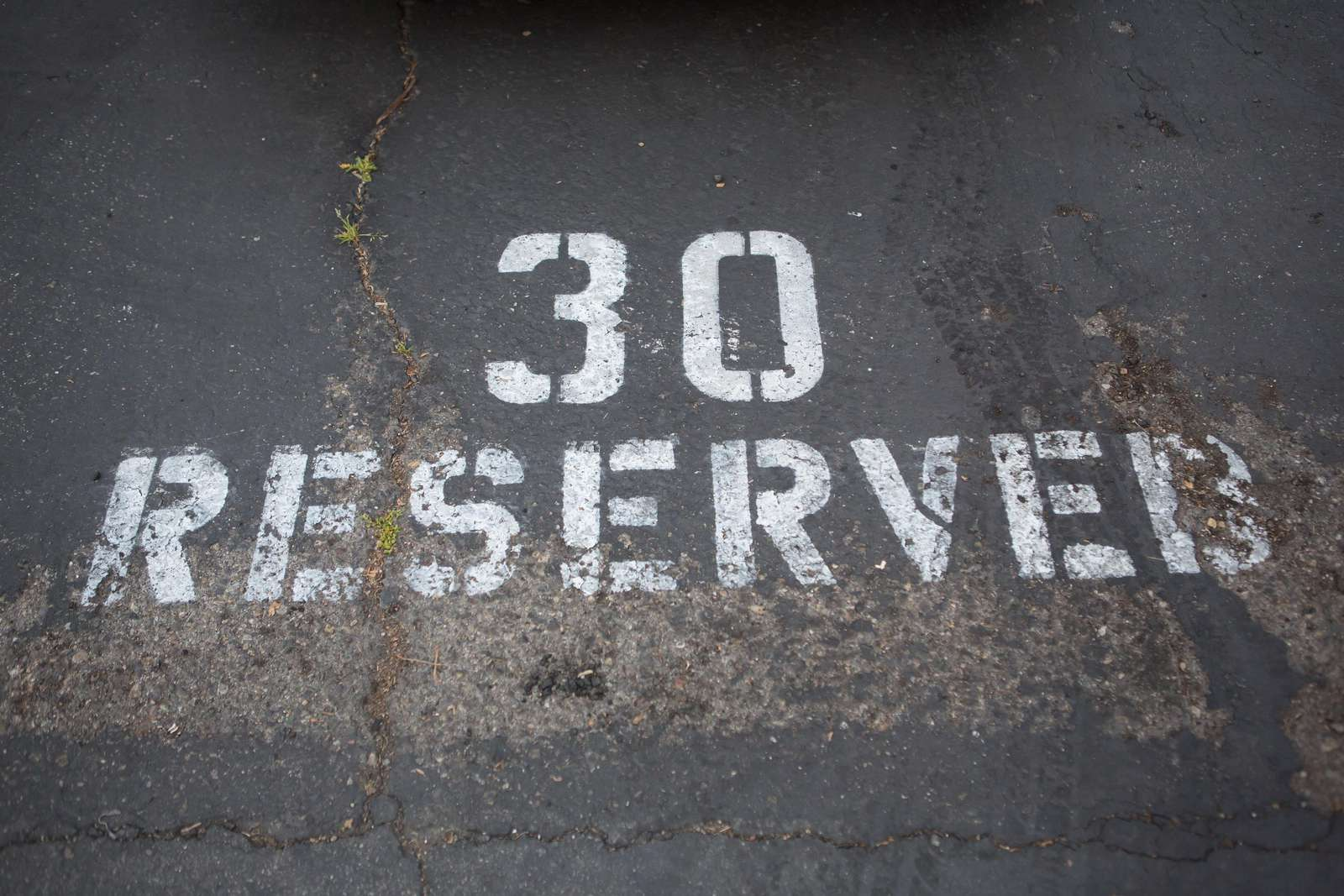 Your free reserved parking spot