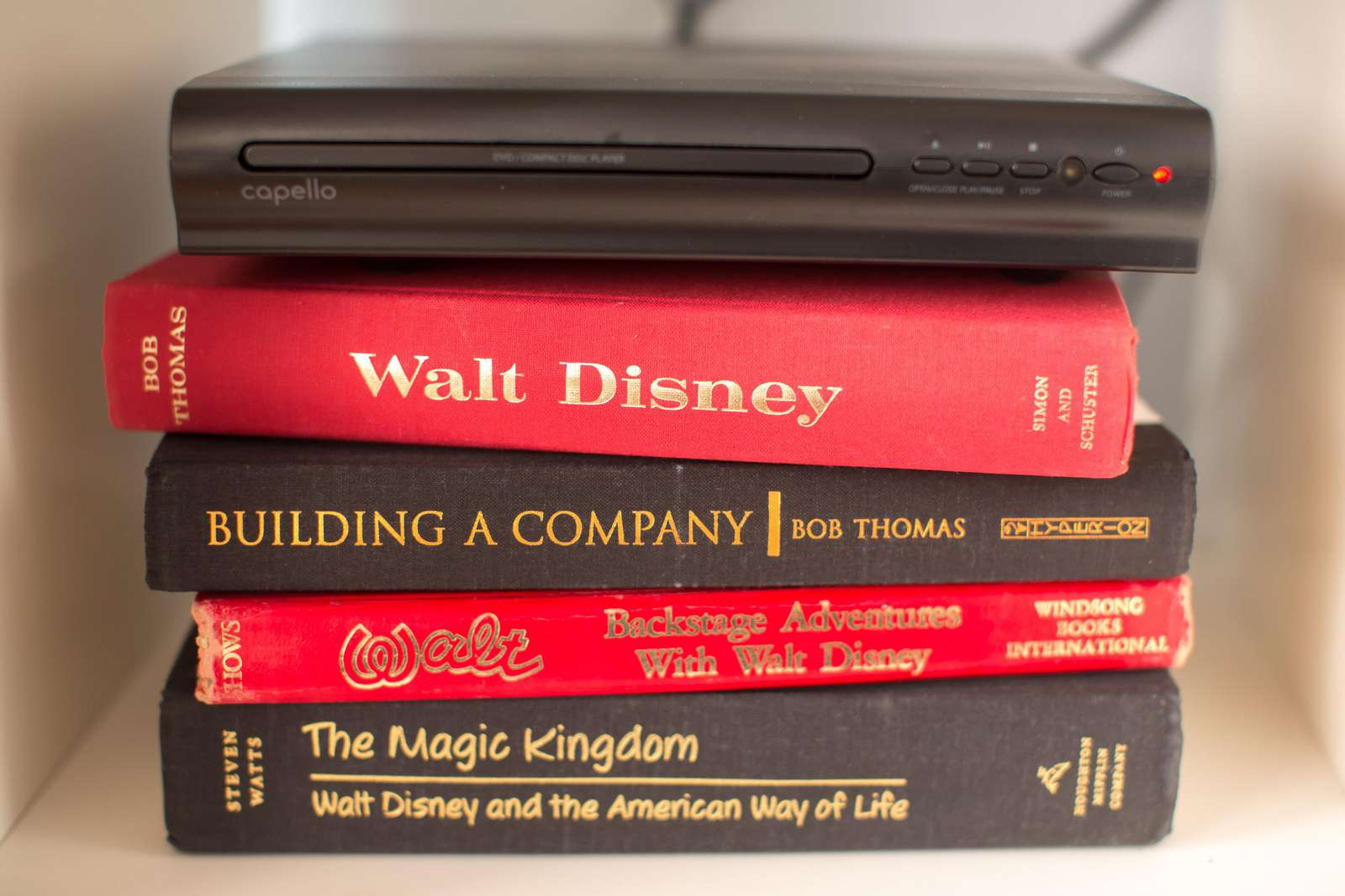 Disney decor and books