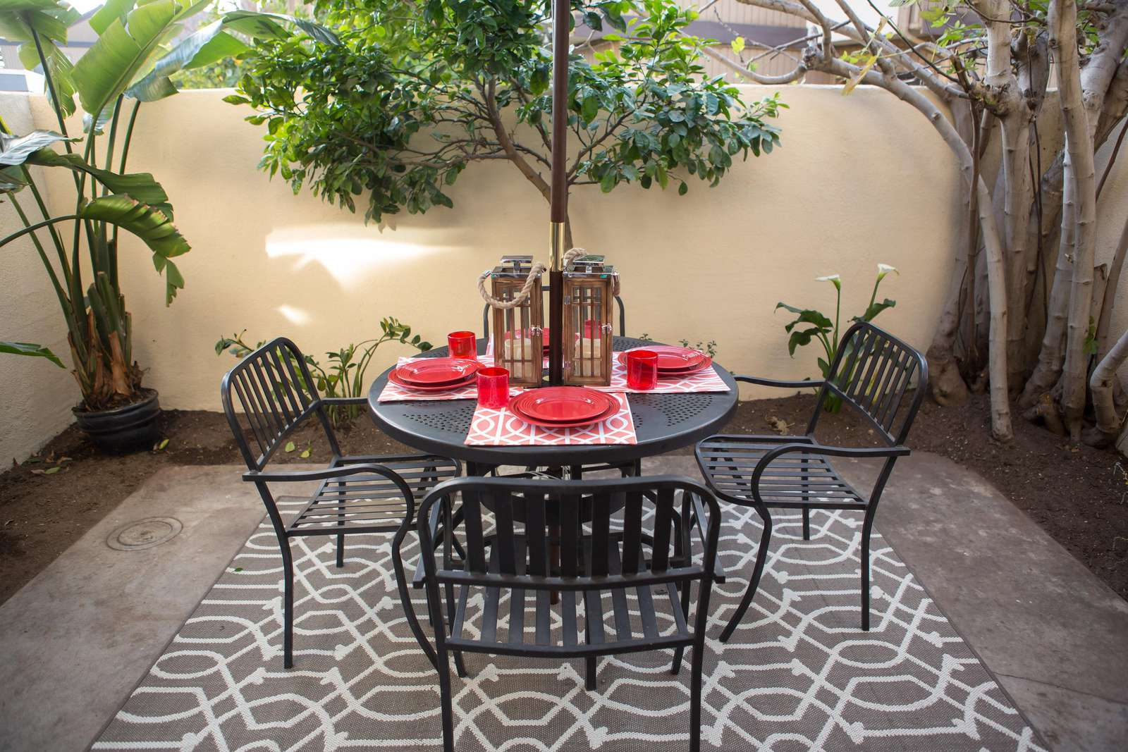 Enjoy the SoCal weather on the patio!